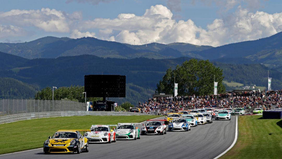 Neuerungen im Porsche Carrera Cup Deutschland