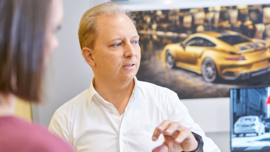 Thilo Koslowski, CEO of Porsche Digital, Silicon Valley, 2017, Porsche AG