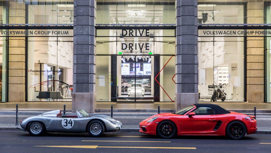 Porsche eröffnet Markenausstellung