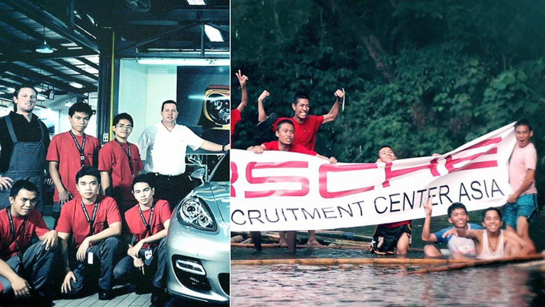 Porsche Training and Recruitment Center Asia