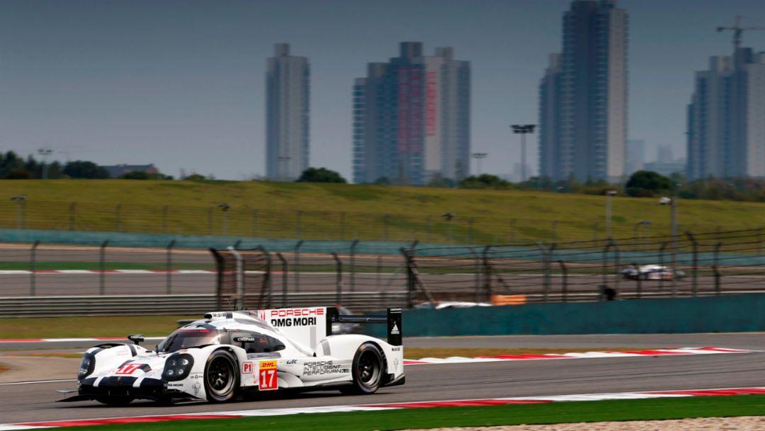 Reibungsloser Auftakt für Porsche in Shanghai