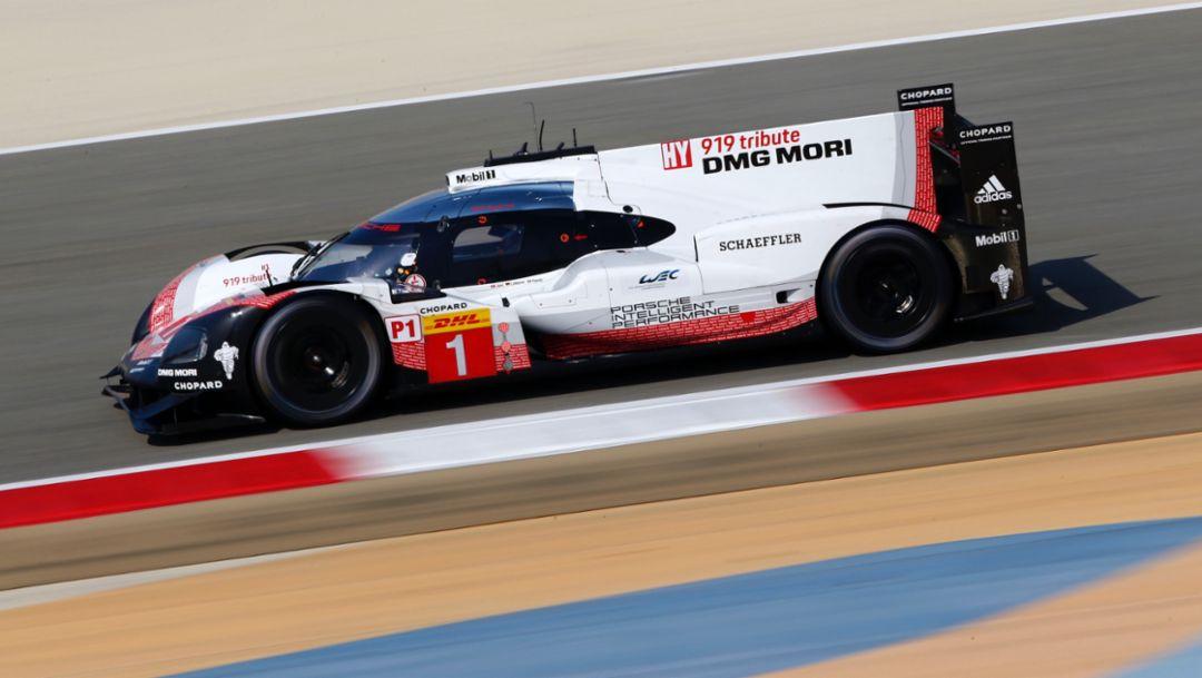 919 Hybrid, WEC, Bahrain, qualifying, 2017, Porsche AG