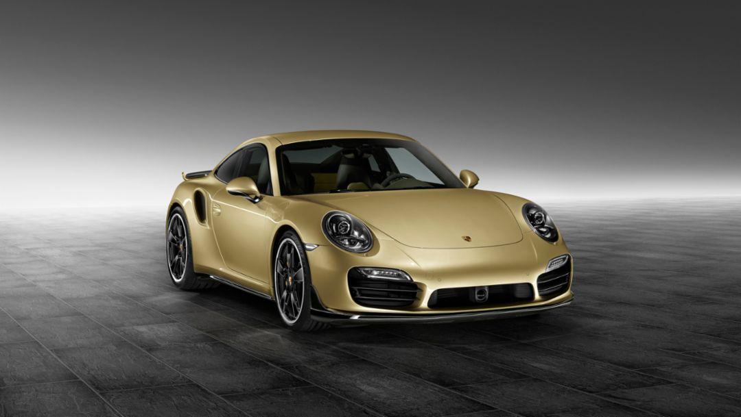 Neues Aerokit für den 911 Turbo