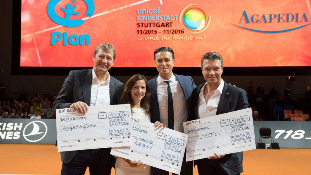 30.000 Euro für Kinder in Not