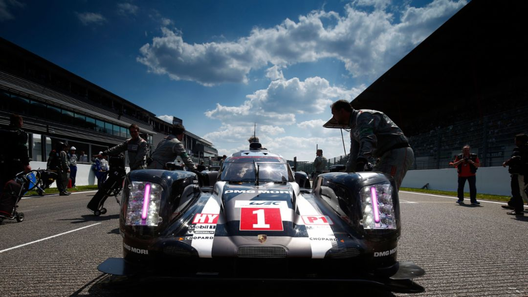 How the technology of the 919 Hybrid works