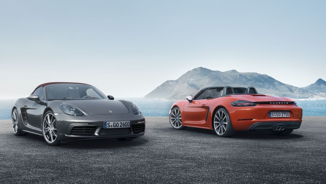 The new 718 Boxster