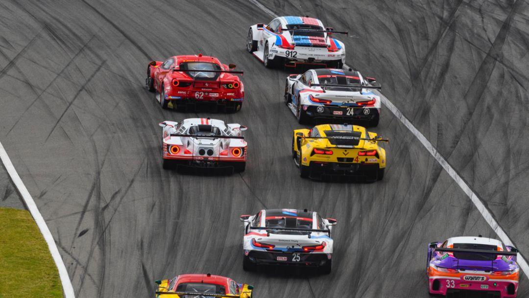 Das Rennen in Daytona