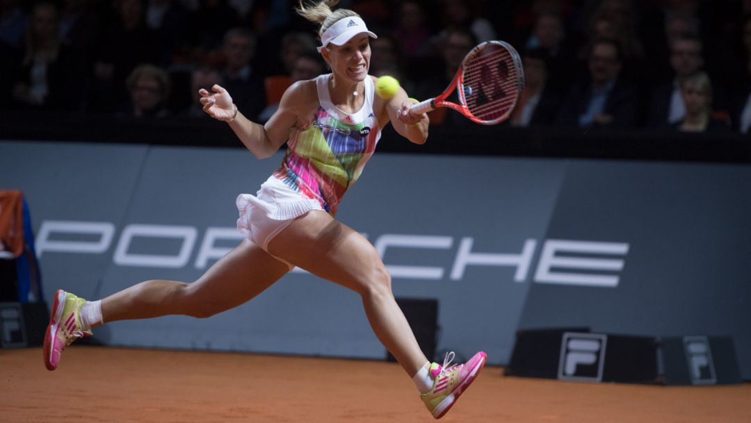 Tennisstunde mit Angelique Kerber