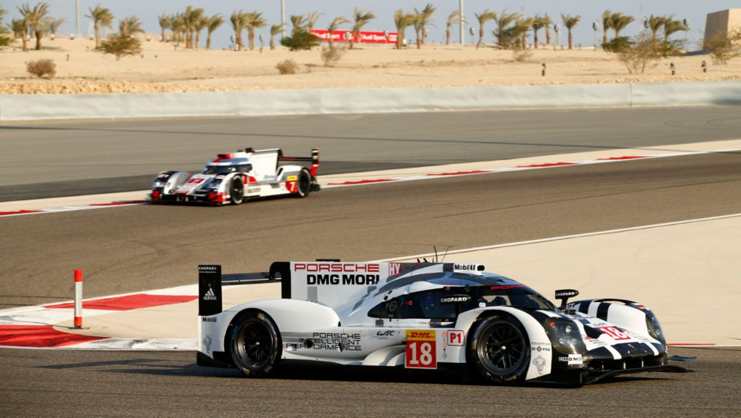 Porsche confirms LMP1 drivers