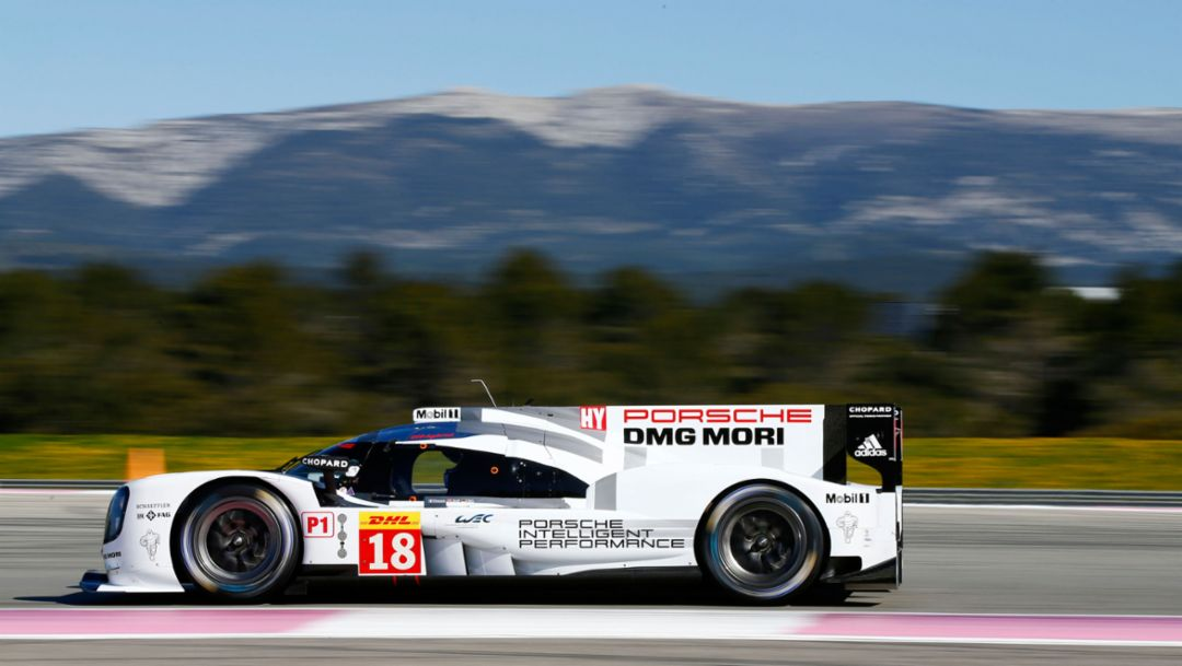 Successful tests in Paul Ricard