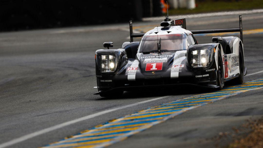 Porsche on pole at Le Mans