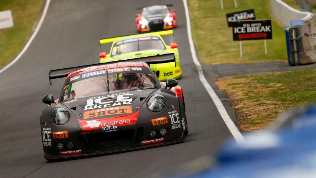 911 GT3 R, Competition Motorsports, Intercontinental GT Challenge, Bathurst, 2018, Porsche AG