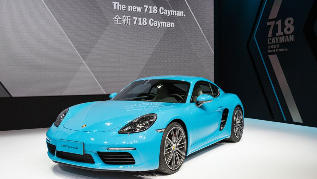 The new 718 Cayman