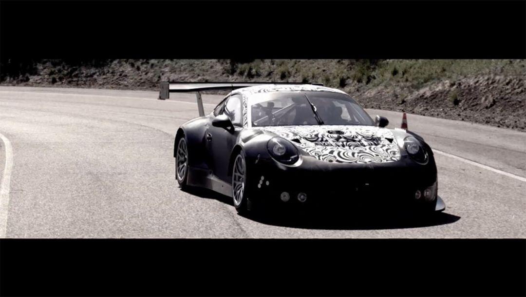 The new Porsche 911 GT3 R