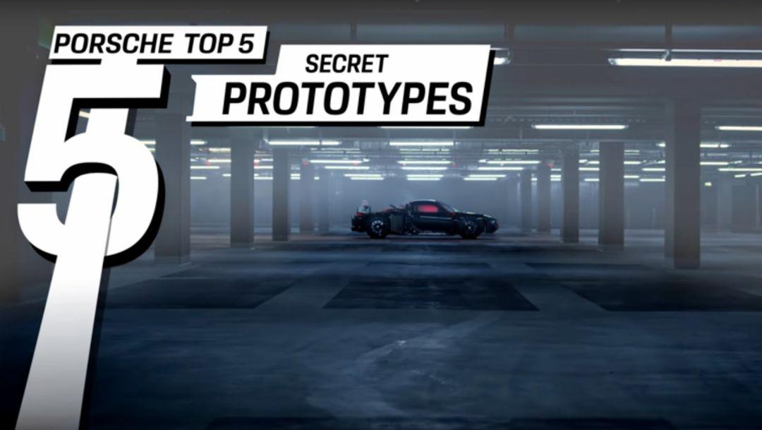 Porsche Top 5 – Geheime Prototypen
