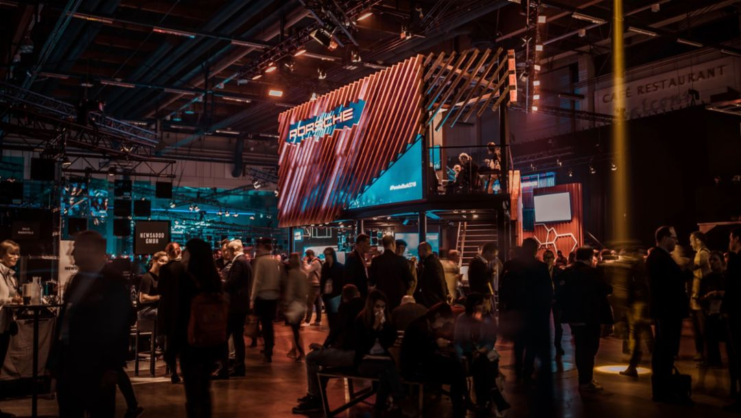 Slush Konferenz, Helsinki, Finnland, 2018, Porsche AG