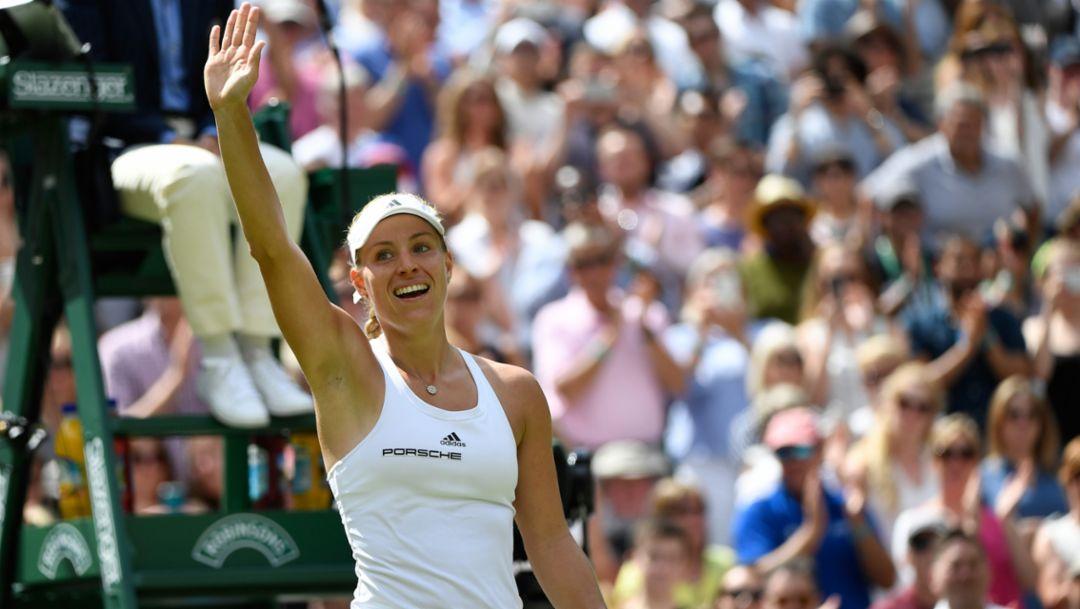 Kerber im Traumfinale von Wimbledon
