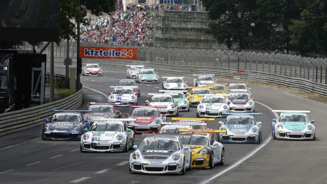 Porsche Carrera Cup with developments