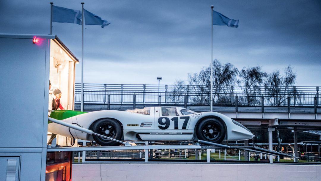 Porsche 917-001, встреча гоночного клуба в Гудвуде, 2019, Porsche AG