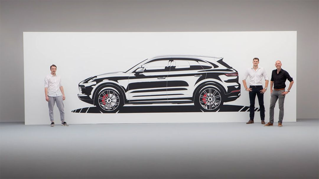 Tapeart, Cayenne, 2017, Porsche AG