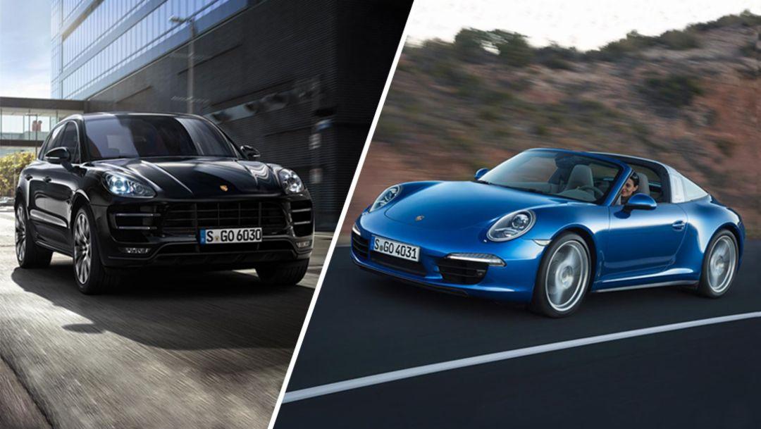 Designpreis für Macan und 911 Targa