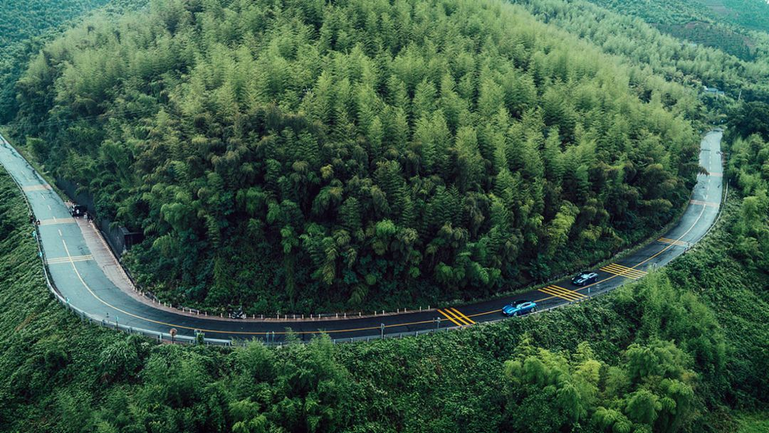 The new Panamera enters the Chinese market.