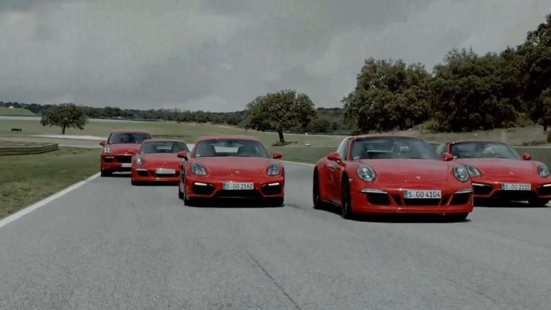 Presentation of the Porsche GTS family