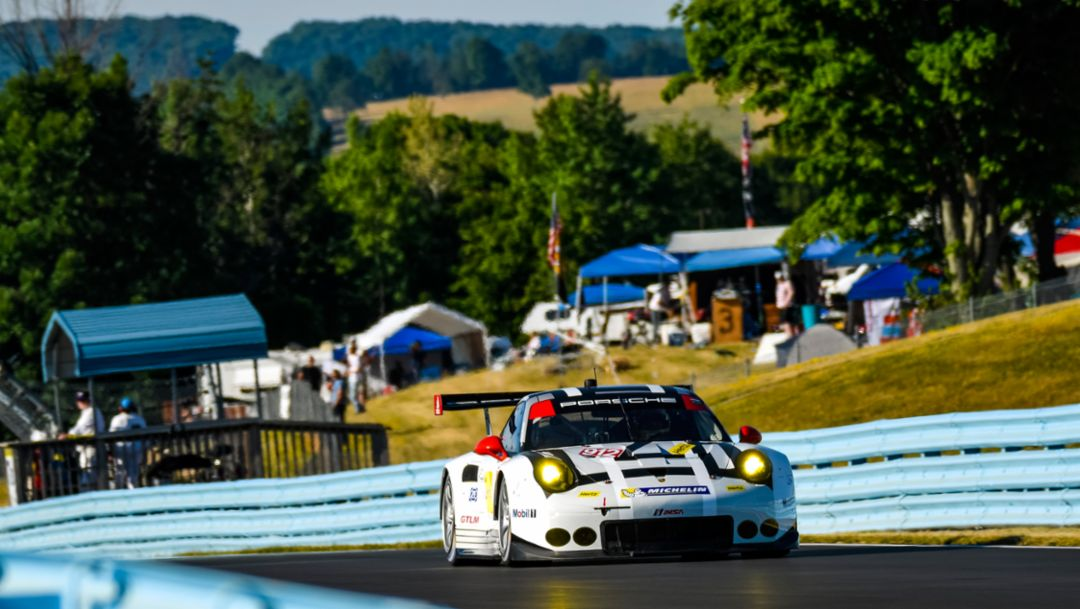 Porsche pilots look forward to next race
