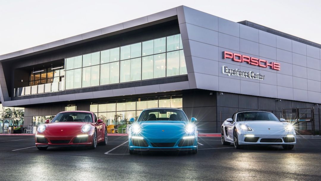 Porsche Experience Center Los Angeles, 2018, Porsche AG