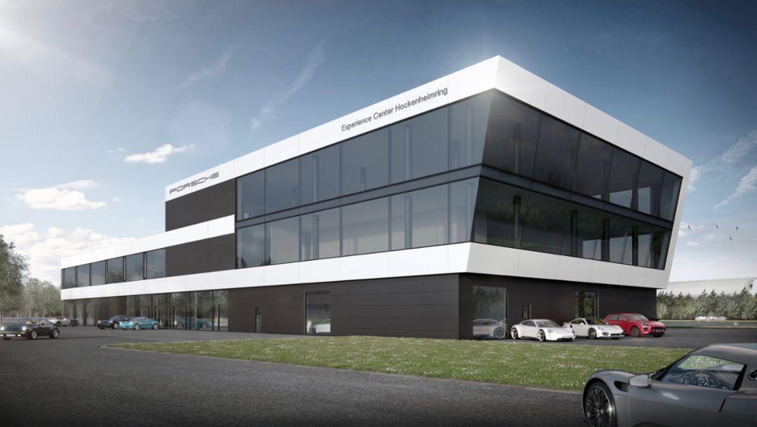 """""""Porsche Experience Center"""" am Hockenheimring feiert Richtfest"""