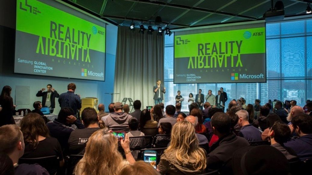 The Reality Virtually Hackathon at MIT, 2019, Porsche AG