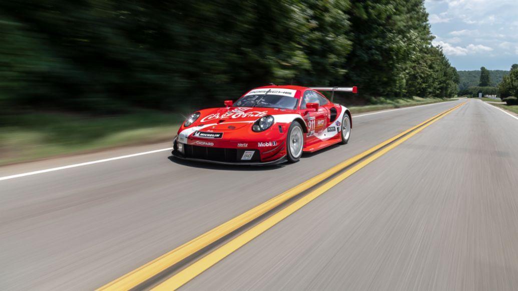 911 RSR, Coca Cola Design, Atlanta, 2019, Porsche AG