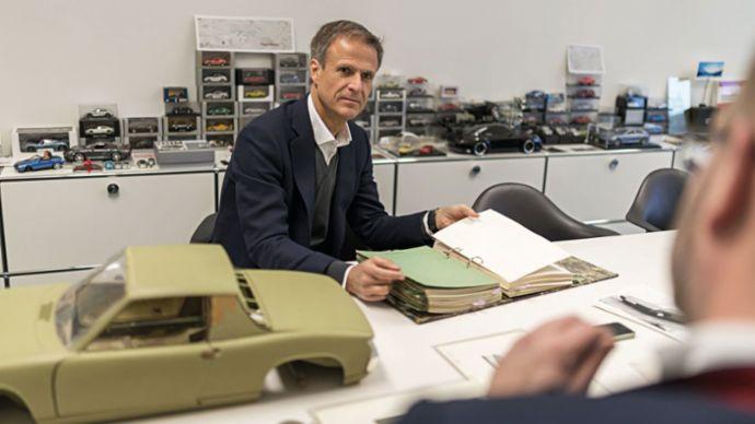 Michael Mauer, Head of Style Porsche, 2020, Porsche AG