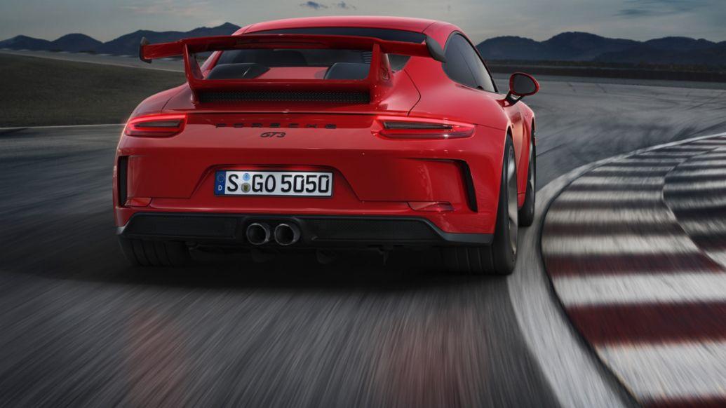 911 GT3, 2017, Porsche AG