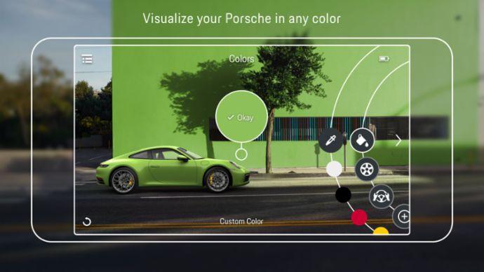 Porsche Augmented Reality Visualizer App, 2019, Porsche AG