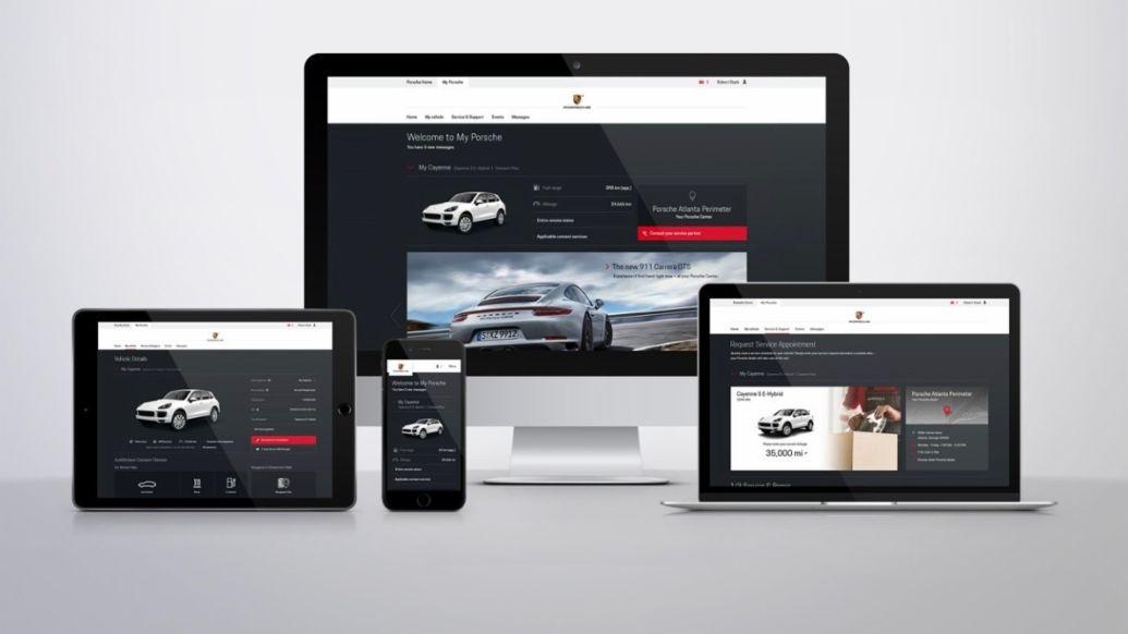 Devices, My Porsche, 2018, Porsche AG