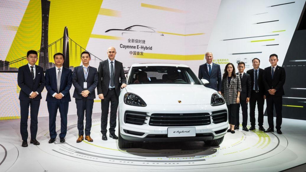 全新保时捷 Cayenne E-Hybrid 中国首发 以持续创新满足市场期待