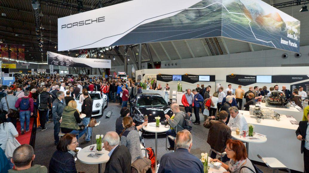 Retro Classics, Stuttgart, 2017, Porsche AG