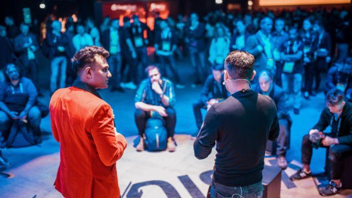 Conférence Slush à Helsinki, 2019, Porsche AG