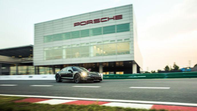 Taycan, Porsche Experience Centre, Шанхай, 2019, Porsche AG