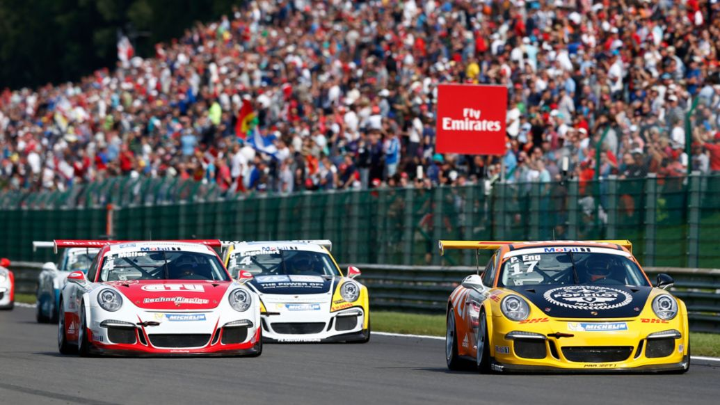 Start, Porsche Mobil 1 Supercup, Spa 2015, Porsche AG