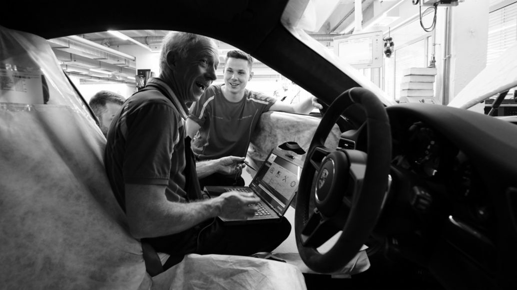 Generationen bei Porsche, 2019, Porsche AG