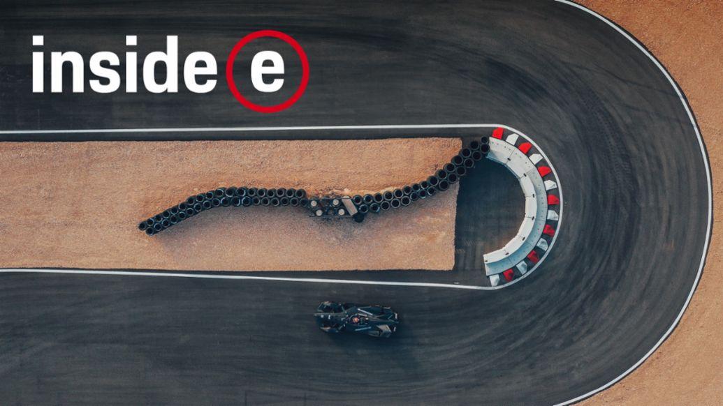 """""""Inside E"""", Porsche Formula E Podcast, 2019, Porsche AG"""