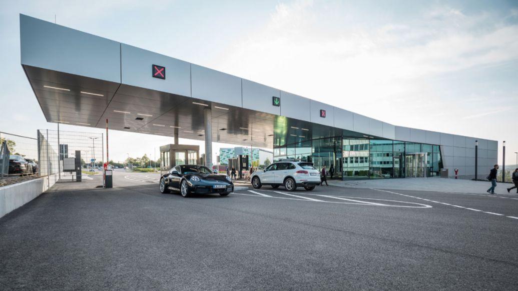 Porsche Entwicklungszentrum Weissach, Nordpforte, 2019, Porsche AG