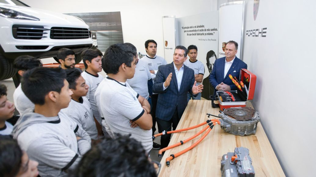Porsche Training and Recruitment Center, Puebla, Mexiko, 2019, Porsche AG