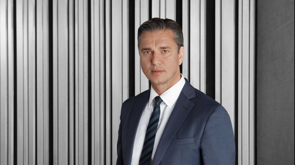 Lutz Meschke, Member of the Executive Board for Finances and IT, 2017, Porsche AG
