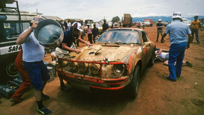911 SC, Safari Rally, Kenya, 1978, Porsche AG