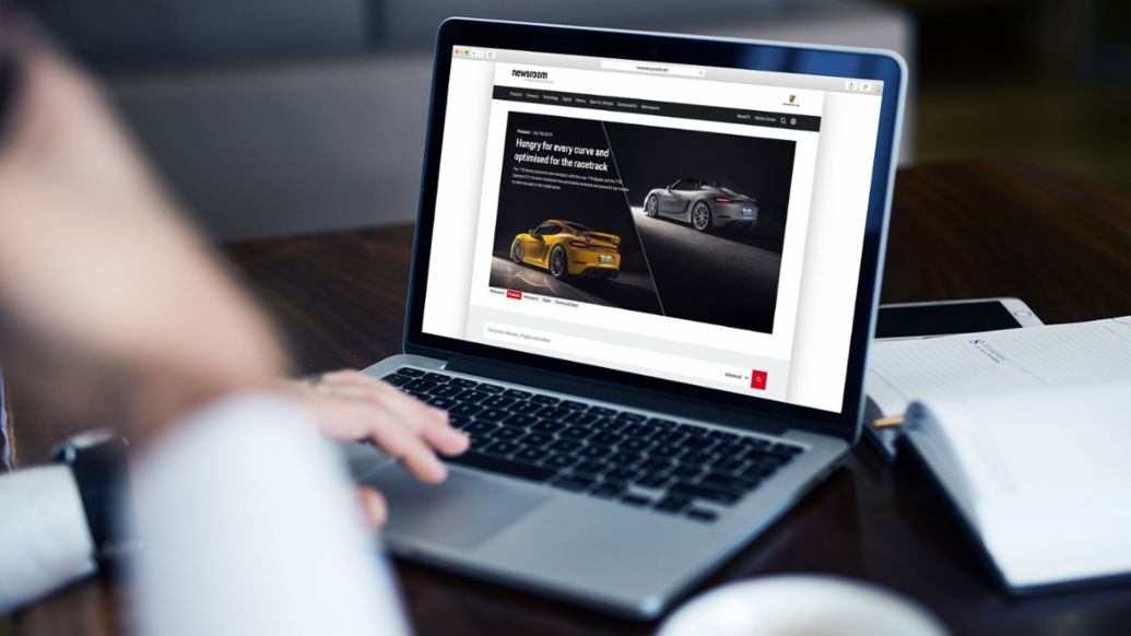 Porsche Newsroom, 2019, Porsche AG