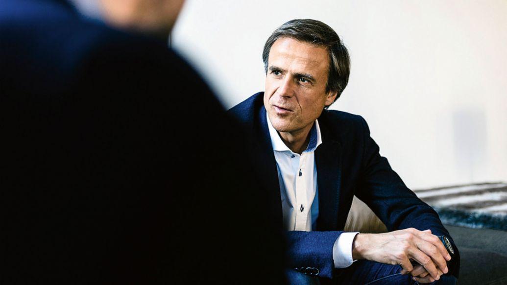 Michael Mauer, Head of Porsche Design Department, 2017, Porsche AG
