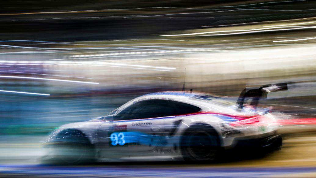911 RSR (93), Qualifying 1 GTE, FIA WEC, Le Mans, 2019, Porsche AG